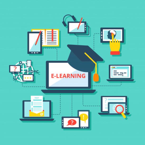 Khái niệm về website học trực tuyến.