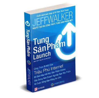 Launch tung sản phẩm - sách kinh doanh online và offline