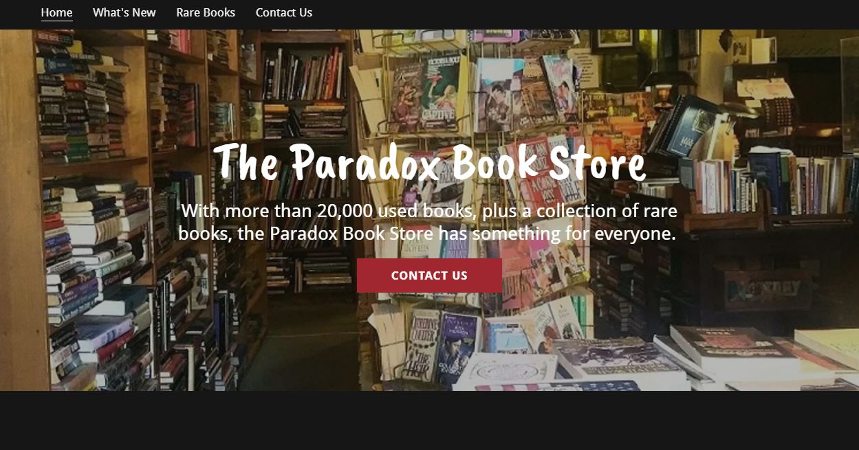 The paradox book store