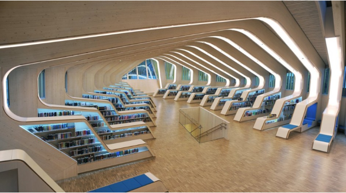 Thư viện kiêm Trung tâm Văn hóa ở Vennesla