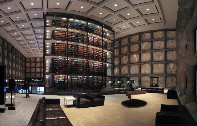 Thư viện sách quý Beinecke.