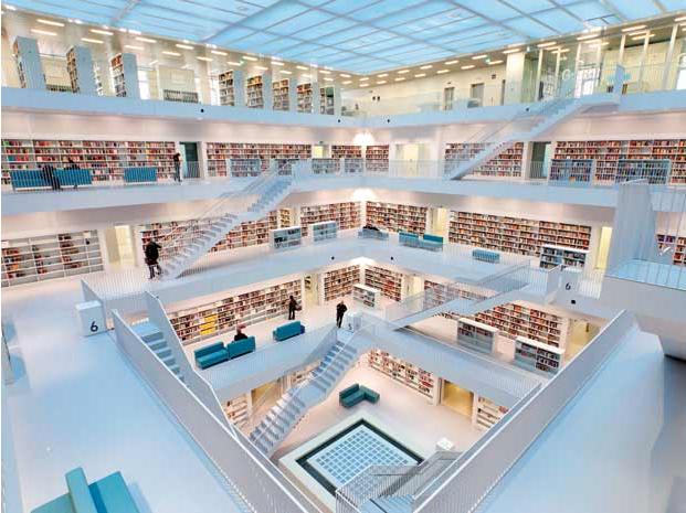 Thư viện thành phố Stuttgart