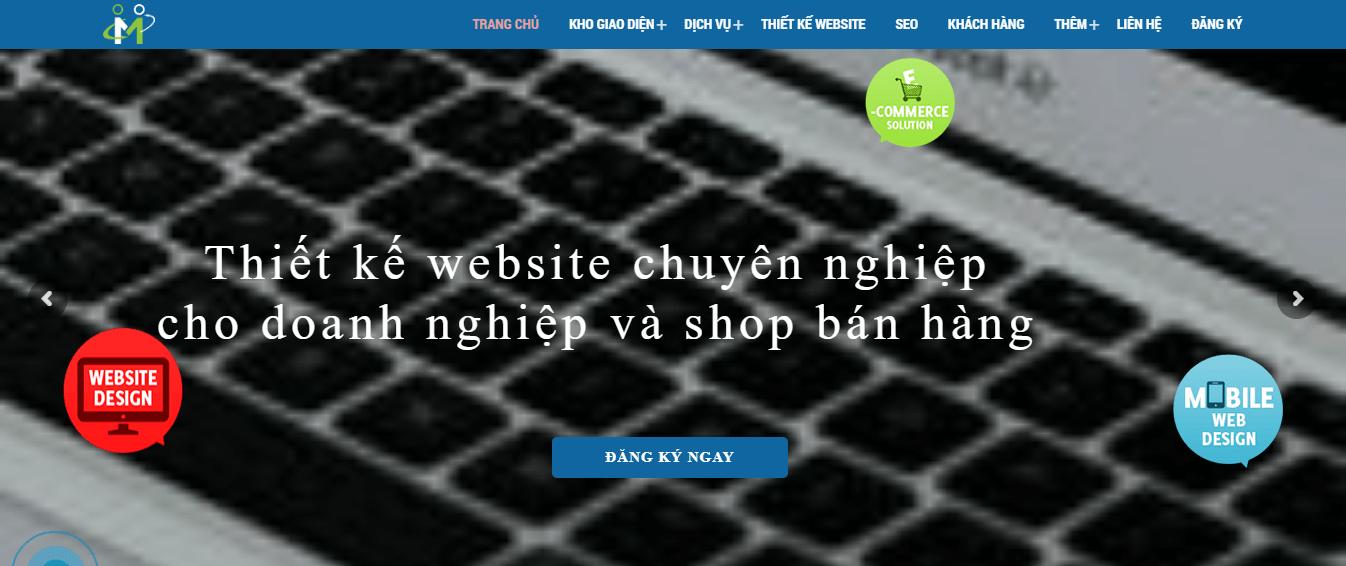 thiết kế web nhanh 247