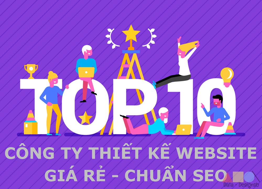 Top 10 công ty thiết kế website
