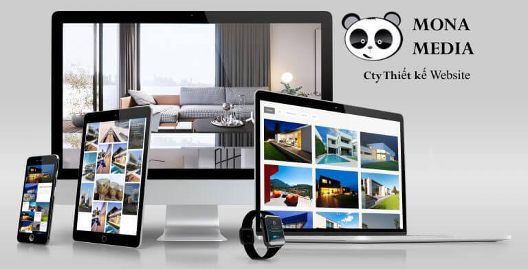 Công ty thiết kế website giới thiệu Mona Media