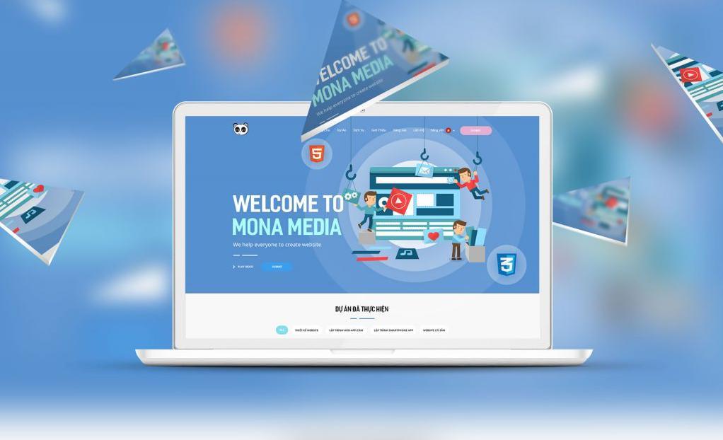 Công ty thiết kế website spa chuyên nghiệp, giá rẻ MONA MEDIA