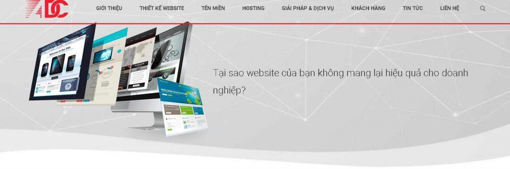 Công ty thiết kế website spa chuyên nghiệp ADC