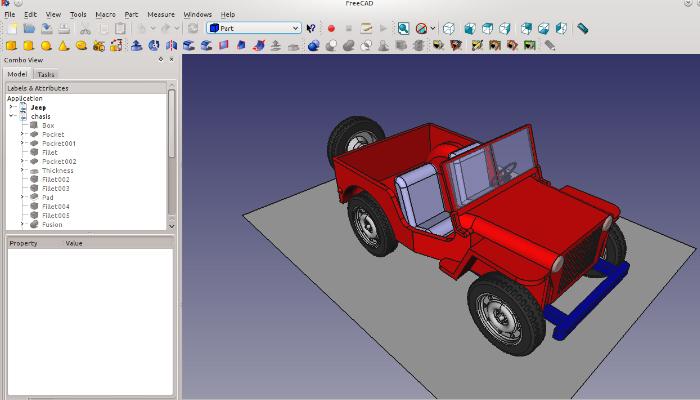 FreeCAD - Phần mềm thiết kế 3D miễn phí