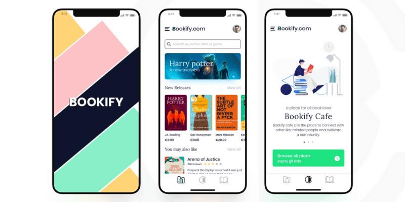 app bán sách online